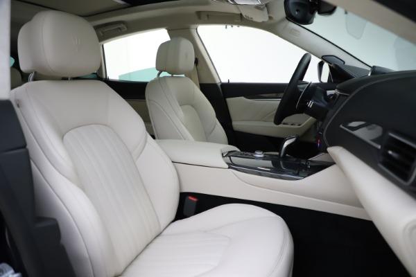 New 2021 Maserati Levante S Q4 GranLusso for sale $106,235 at Maserati of Greenwich in Greenwich CT 06830 23