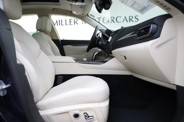 New 2021 Maserati Levante S Q4 GranLusso for sale $106,235 at Maserati of Greenwich in Greenwich CT 06830 24