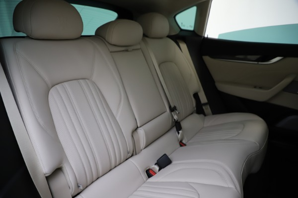 New 2021 Maserati Levante S Q4 GranLusso for sale $106,235 at Maserati of Greenwich in Greenwich CT 06830 26