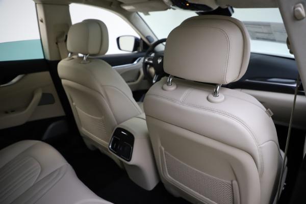 New 2021 Maserati Levante S Q4 GranLusso for sale $106,235 at Maserati of Greenwich in Greenwich CT 06830 28