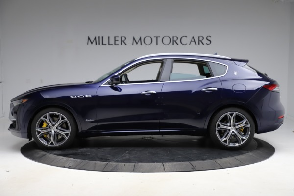 New 2021 Maserati Levante S Q4 GranLusso for sale $106,235 at Maserati of Greenwich in Greenwich CT 06830 3