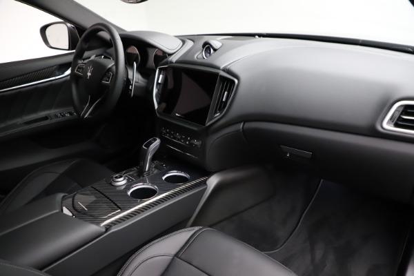 New 2021 Maserati Ghibli S Q4 GranSport for sale $98,125 at Maserati of Greenwich in Greenwich CT 06830 22