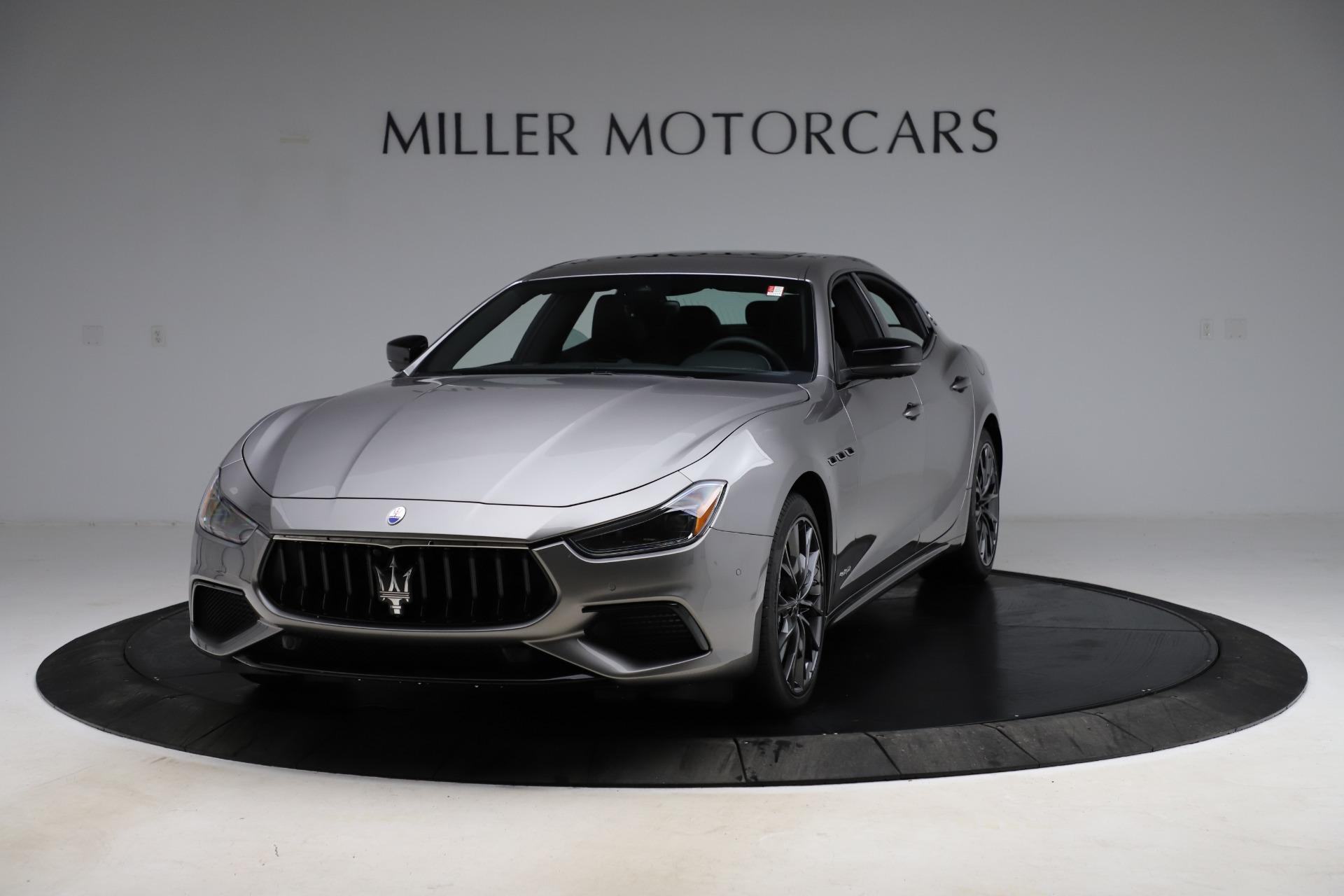 New 2021 Maserati Ghibli S Q4 GranSport for sale $98,125 at Maserati of Greenwich in Greenwich CT 06830 1