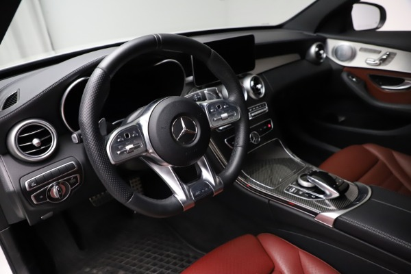 Used 2019 Mercedes-Benz C-Class AMG C 43 for sale Call for price at Maserati of Greenwich in Greenwich CT 06830 14