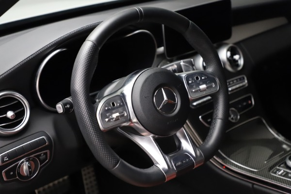 Used 2019 Mercedes-Benz C-Class AMG C 43 for sale Call for price at Maserati of Greenwich in Greenwich CT 06830 17