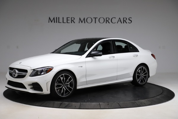 Used 2019 Mercedes-Benz C-Class AMG C 43 for sale Call for price at Maserati of Greenwich in Greenwich CT 06830 2