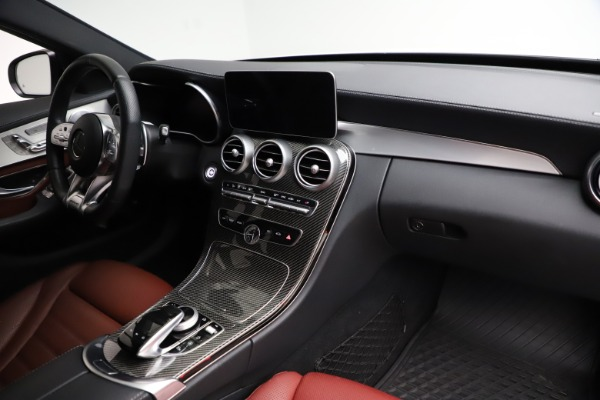 Used 2019 Mercedes-Benz C-Class AMG C 43 for sale Call for price at Maserati of Greenwich in Greenwich CT 06830 22