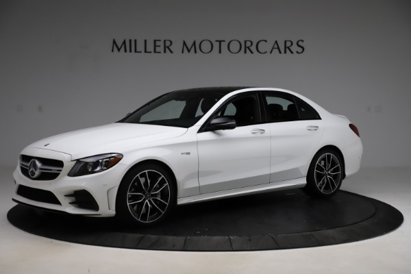Used 2019 Mercedes-Benz C-Class AMG C 43 for sale Call for price at Maserati of Greenwich in Greenwich CT 06830 3