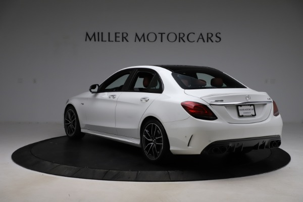 Used 2019 Mercedes-Benz C-Class AMG C 43 for sale Call for price at Maserati of Greenwich in Greenwich CT 06830 6