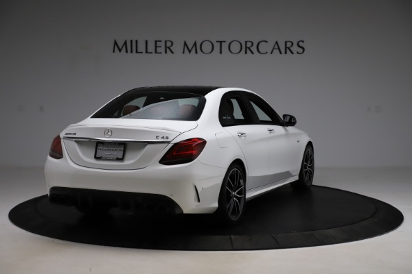 Used 2019 Mercedes-Benz C-Class AMG C 43 for sale Call for price at Maserati of Greenwich in Greenwich CT 06830 8