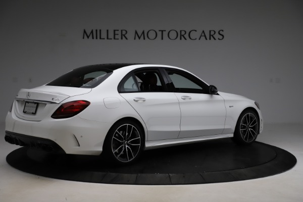 Used 2019 Mercedes-Benz C-Class AMG C 43 for sale Call for price at Maserati of Greenwich in Greenwich CT 06830 9