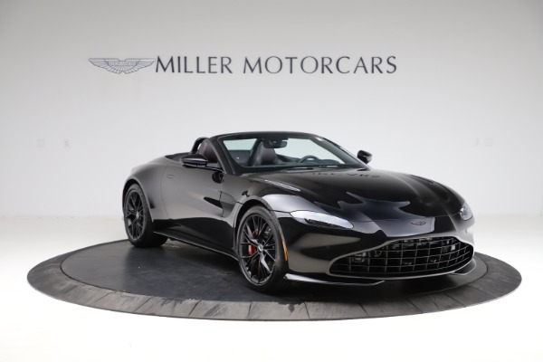 New 2021 Aston Martin Vantage Roadster Convertible for sale $189,186 at Maserati of Greenwich in Greenwich CT 06830 10