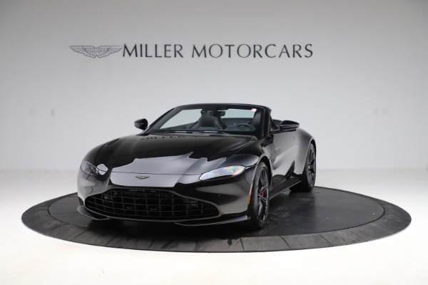 New 2021 Aston Martin Vantage Roadster for sale $189,186 at Maserati of Greenwich in Greenwich CT 06830 12