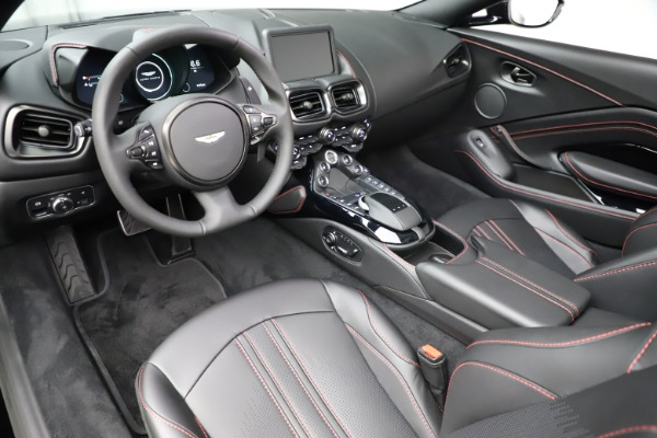 New 2021 Aston Martin Vantage Roadster Convertible for sale $189,186 at Maserati of Greenwich in Greenwich CT 06830 13
