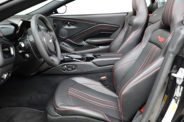 New 2021 Aston Martin Vantage Roadster Convertible for sale $189,186 at Maserati of Greenwich in Greenwich CT 06830 14