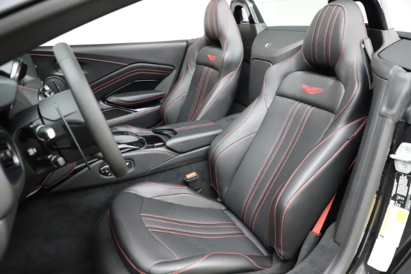 New 2021 Aston Martin Vantage Roadster Convertible for sale $189,186 at Maserati of Greenwich in Greenwich CT 06830 15