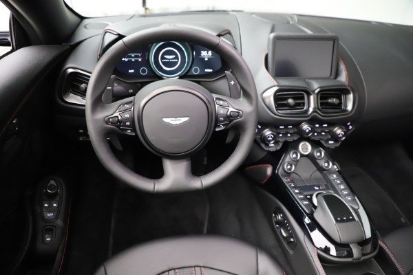 New 2021 Aston Martin Vantage Roadster Convertible for sale $189,186 at Maserati of Greenwich in Greenwich CT 06830 17