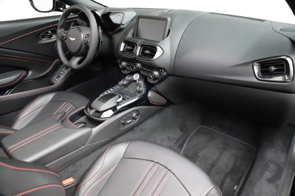 New 2021 Aston Martin Vantage Roadster Convertible for sale $189,186 at Maserati of Greenwich in Greenwich CT 06830 18