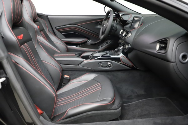 New 2021 Aston Martin Vantage Roadster Convertible for sale $189,186 at Maserati of Greenwich in Greenwich CT 06830 19