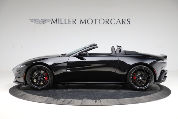 New 2021 Aston Martin Vantage Roadster Convertible for sale $189,186 at Maserati of Greenwich in Greenwich CT 06830 2