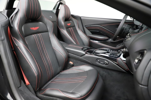 New 2021 Aston Martin Vantage Roadster Convertible for sale $189,186 at Maserati of Greenwich in Greenwich CT 06830 20