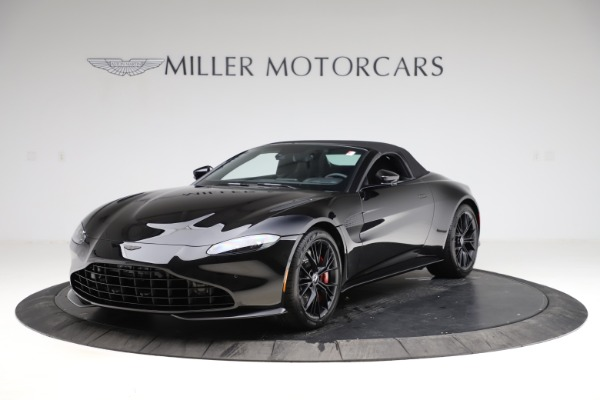 New 2021 Aston Martin Vantage Roadster Convertible for sale $189,186 at Maserati of Greenwich in Greenwich CT 06830 27