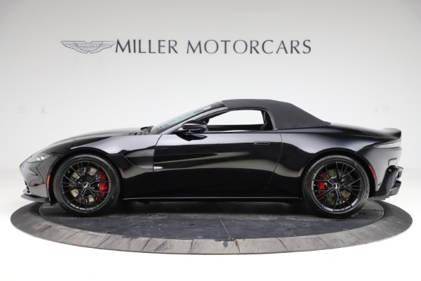 New 2021 Aston Martin Vantage Roadster Convertible for sale $189,186 at Maserati of Greenwich in Greenwich CT 06830 28