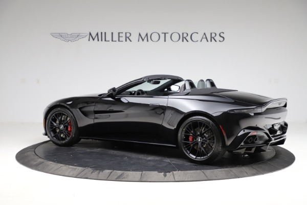 New 2021 Aston Martin Vantage Roadster Convertible for sale $189,186 at Maserati of Greenwich in Greenwich CT 06830 3