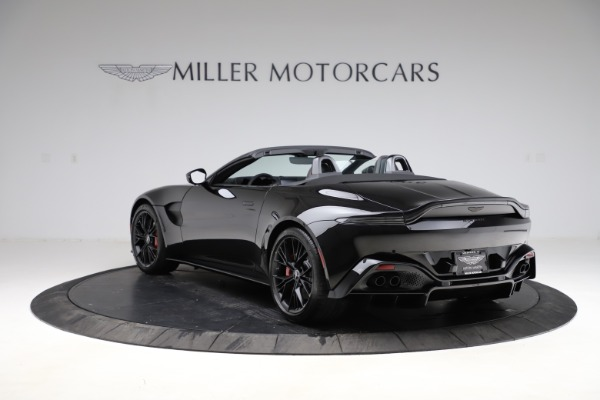 New 2021 Aston Martin Vantage Roadster for sale $189,186 at Maserati of Greenwich in Greenwich CT 06830 4
