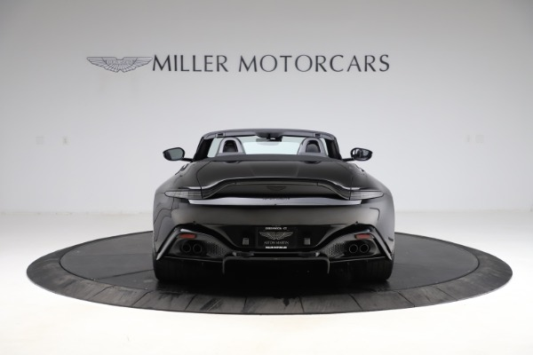 New 2021 Aston Martin Vantage Roadster Convertible for sale $189,186 at Maserati of Greenwich in Greenwich CT 06830 5