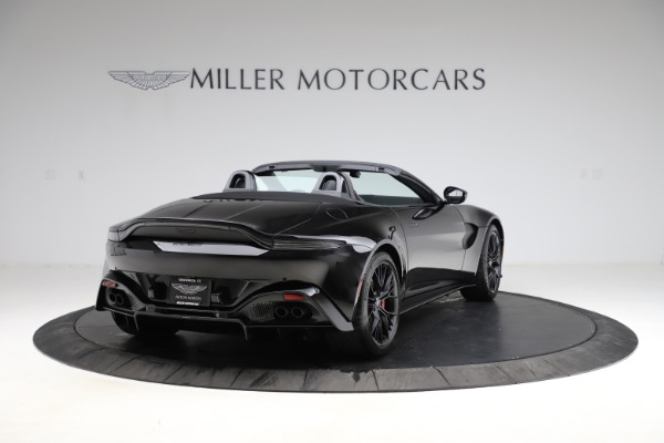 New 2021 Aston Martin Vantage Roadster Convertible for sale $189,186 at Maserati of Greenwich in Greenwich CT 06830 6