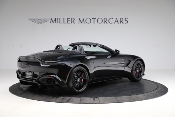 New 2021 Aston Martin Vantage Roadster Convertible for sale $189,186 at Maserati of Greenwich in Greenwich CT 06830 7