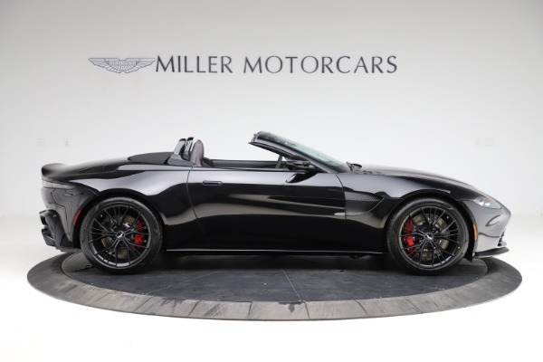 New 2021 Aston Martin Vantage Roadster Convertible for sale $189,186 at Maserati of Greenwich in Greenwich CT 06830 8