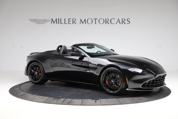 New 2021 Aston Martin Vantage Roadster Convertible for sale $189,186 at Maserati of Greenwich in Greenwich CT 06830 9