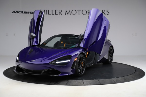 Used 2020 McLaren 720S Spider Performance for sale $324,990 at Maserati of Greenwich in Greenwich CT 06830 19