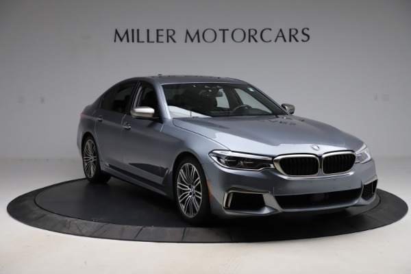 Used 2018 BMW 5 Series M550i xDrive for sale $49,900 at Maserati of Greenwich in Greenwich CT 06830 11