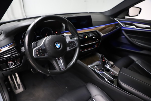 Used 2018 BMW 5 Series M550i xDrive for sale $49,900 at Maserati of Greenwich in Greenwich CT 06830 13