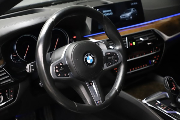 Used 2018 BMW 5 Series M550i xDrive for sale $49,900 at Maserati of Greenwich in Greenwich CT 06830 16