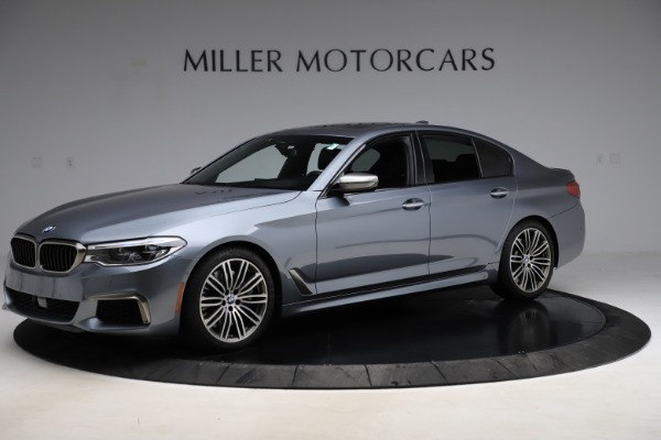 Used 2018 BMW 5 Series M550i xDrive for sale $49,900 at Maserati of Greenwich in Greenwich CT 06830 2