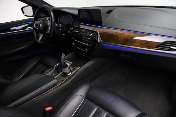 Used 2018 BMW 5 Series M550i xDrive for sale $49,900 at Maserati of Greenwich in Greenwich CT 06830 20