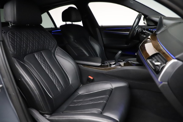 Used 2018 BMW 5 Series M550i xDrive for sale $49,900 at Maserati of Greenwich in Greenwich CT 06830 21