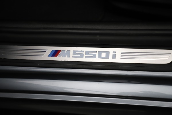Used 2018 BMW 5 Series M550i xDrive for sale $49,900 at Maserati of Greenwich in Greenwich CT 06830 24