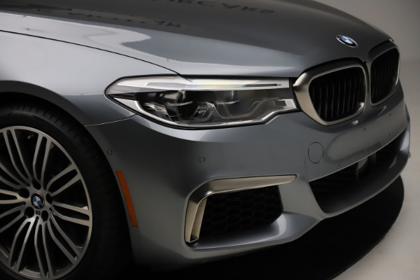 Used 2018 BMW 5 Series M550i xDrive for sale $49,900 at Maserati of Greenwich in Greenwich CT 06830 28