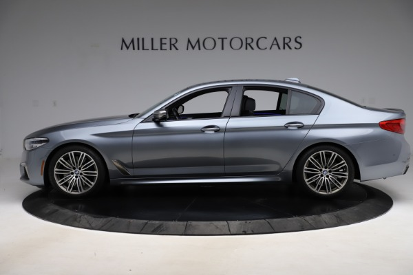 Used 2018 BMW 5 Series M550i xDrive for sale $49,900 at Maserati of Greenwich in Greenwich CT 06830 3