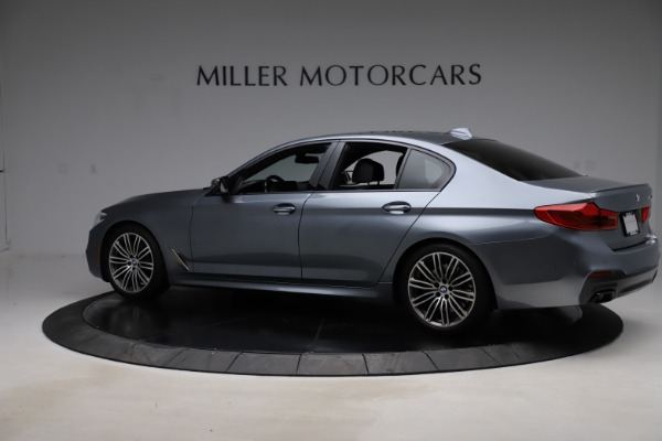 Used 2018 BMW 5 Series M550i xDrive for sale $49,900 at Maserati of Greenwich in Greenwich CT 06830 4