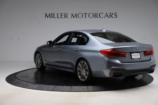Used 2018 BMW 5 Series M550i xDrive for sale $49,900 at Maserati of Greenwich in Greenwich CT 06830 5