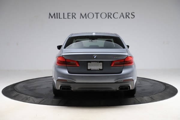 Used 2018 BMW 5 Series M550i xDrive for sale $49,900 at Maserati of Greenwich in Greenwich CT 06830 6