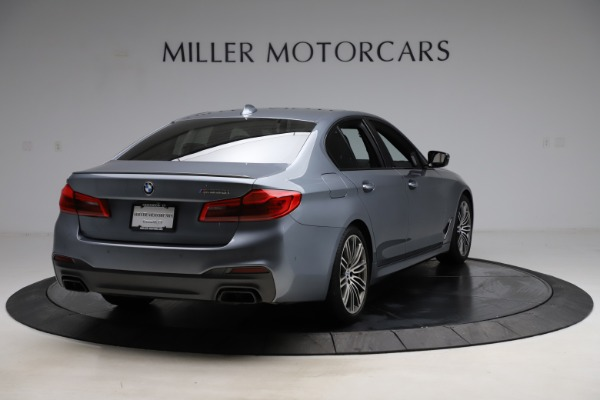 Used 2018 BMW 5 Series M550i xDrive for sale $49,900 at Maserati of Greenwich in Greenwich CT 06830 7