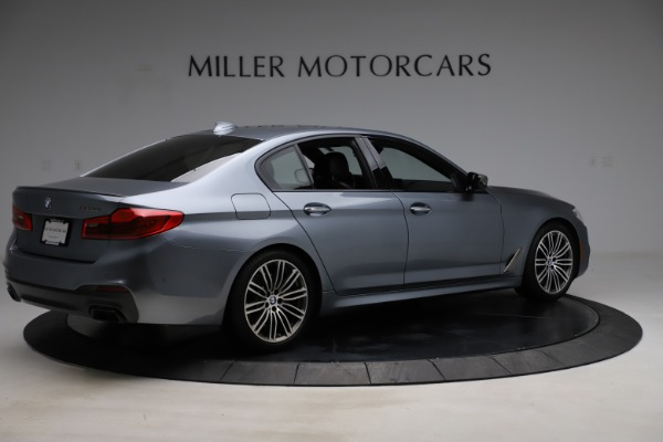 Used 2018 BMW 5 Series M550i xDrive for sale $49,900 at Maserati of Greenwich in Greenwich CT 06830 8