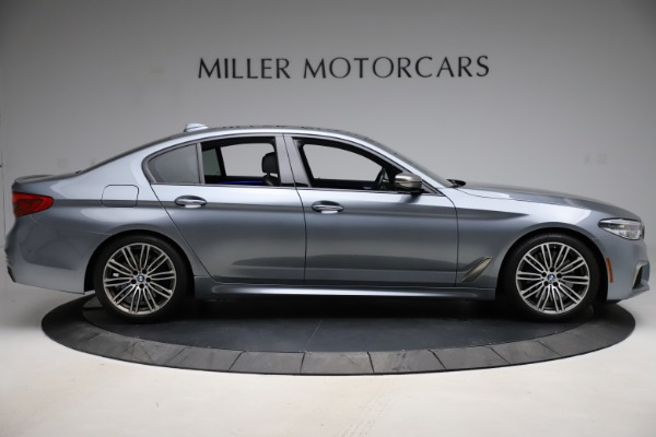 Used 2018 BMW 5 Series M550i xDrive for sale $49,900 at Maserati of Greenwich in Greenwich CT 06830 9